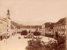 Stadtansicht von Leoben