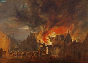 Brüssel in Brand