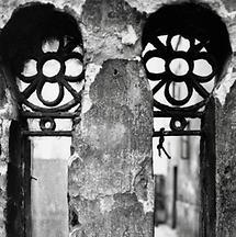 Fenster im Hof Herminengasse