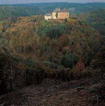 Burg Lockenhaus im Burgenland