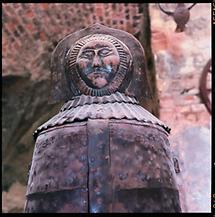 Die Eiserne Jungfrau in der Burg Lockenhaus
