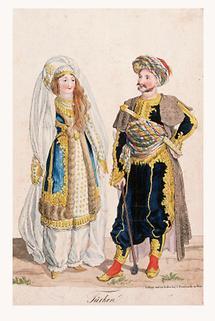 Türkische Trachten