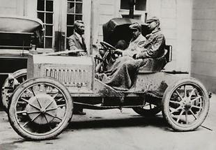 Ferdinand Porsche und Ludwig Lohner