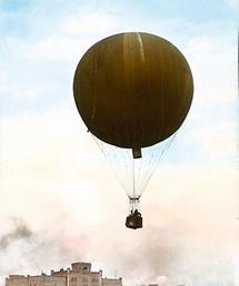Ballon in den Lüften