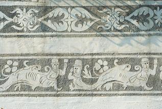 Fassadendetail vom Amonhaus in Lunz