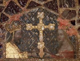 Kaiser Karl IV. und seine dritte Frau