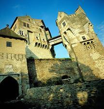 Burg Pernstein in Tschechien