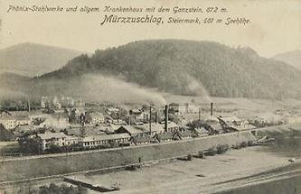 Phönix Stahlwerke in Mürzzuschlag