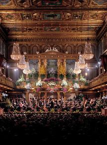 Wien: Der Goldene Saal des Musikvereins