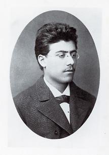 Der österreichische Komponist Gustav Mahler