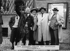 Jaro Prohaska bei den Salzburger Festspielen