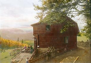 Die Berndorferhütte auf der Hohen Mandling