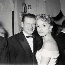 Heinz Conrads und Erni Mangold