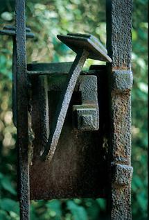 Türriegel  im Schlosspark von Mühlbach