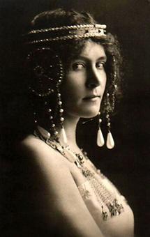 Portraitaufnahme von Lili Marberg