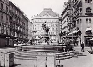 Der Donnerbrunnen am Neuen Markt in Wien
