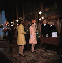 Staatsbesuch der englischen Königin Elizabeth II. in Wien