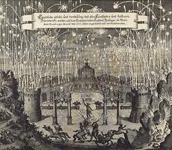 Feuerwerk am 8. Dezember 1666