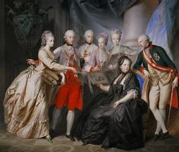 Kaiserin Maria Theresia und ihre Kinder