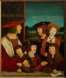 Kaiser Maximilian I  und seine Familie
