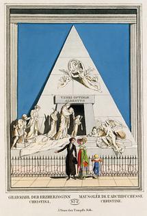 Grabmahl der Erzherzoginn Christina