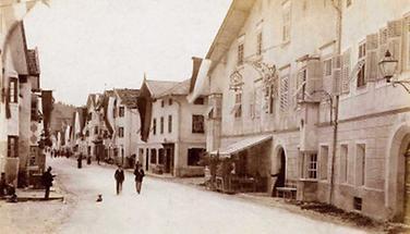 Strasse in Matrei im Osttirol