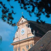 Fassade der Klosterkirche Mauerbach, NÖ