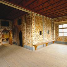 Keutschach-Zimmer in der Burg Mauterndorf
