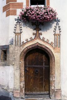 Gotische Tür