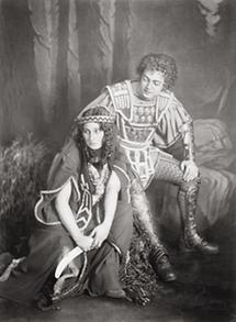 Lotte Medelsky als Medea und Alfred Gerasch als Jason