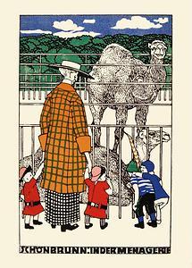 Wiener Werkstätte Postkarte Nr. 663