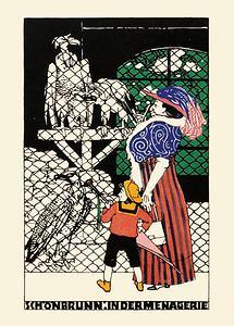 Wiener Werkstätte Postkarte Nr. 662