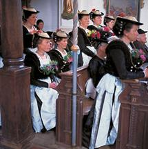 Fronleichnam in Elbach bei Miesbach