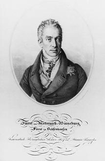 Clemens Wenzel Lothar Fürst Metternich