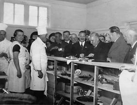 Eröffnung der Kochkunstausstellung