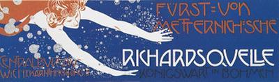 Plakatentwurf für die Richardsquelle