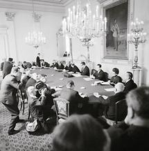 Die österreichische Bundesregierung beim Ministerrat