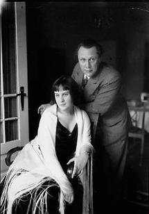 Walter von Molo mit Ehefrau