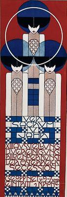 Plakat für die XIII. Ausstellung der Wiener Secession
