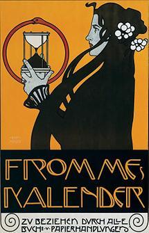 Plakat für Fromme's Kalender
