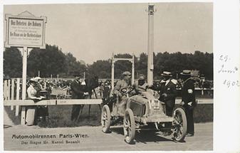 Automobilrennen Paris Wien (1)
