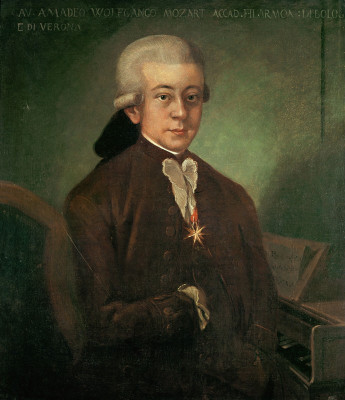 Wolfgang Amadeus Mozart, © IMAGNO/Austrian Archives (AA)