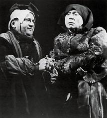 Fritz Muliar und Dorothea Neff