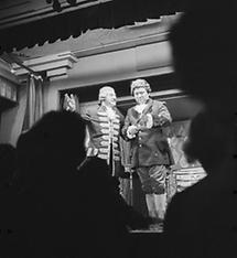 Karl Farkas und Fritz Muliar