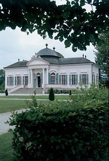 Barocker Gartenpavillon des Stiftes Melk