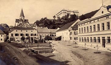 Ansicht der Stadt  Murau