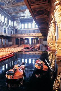 Wien: Goldener Saal des Musikvereins