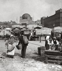 Der Naschmarkt in Wien