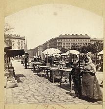 Marktstände am Naschmarkt