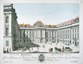 Josefsplatz mit Österreichischer Nationalbibliothek